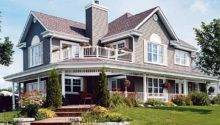Home Designs Porches Houses Wrap Around
