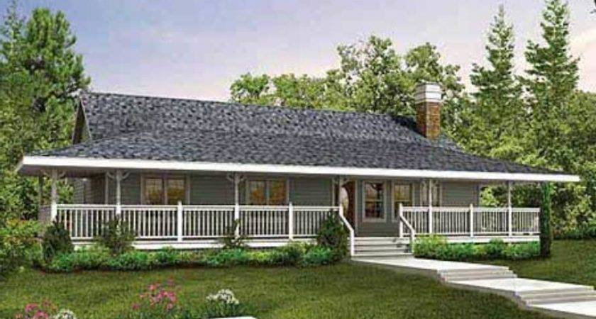 Home Designs Ranch Plans Wrap Around Porches