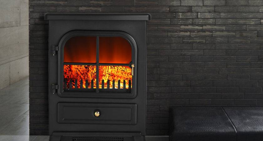Home Electric Fireplace Heater Fire Flame