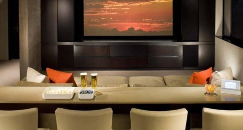Home Furniture Decoration Media Rooms Decorating Ideas