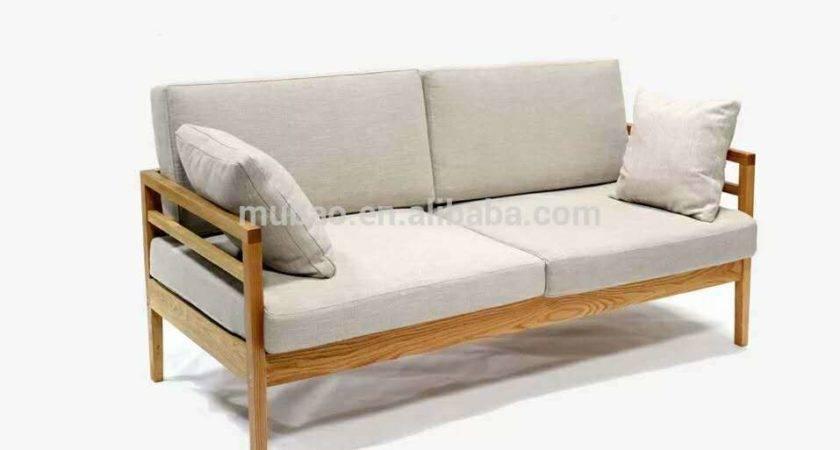 Home Furniture Wood Sofa Buy Solid