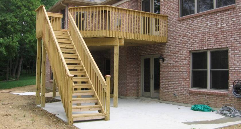 Home Ideas Building Deck Plans