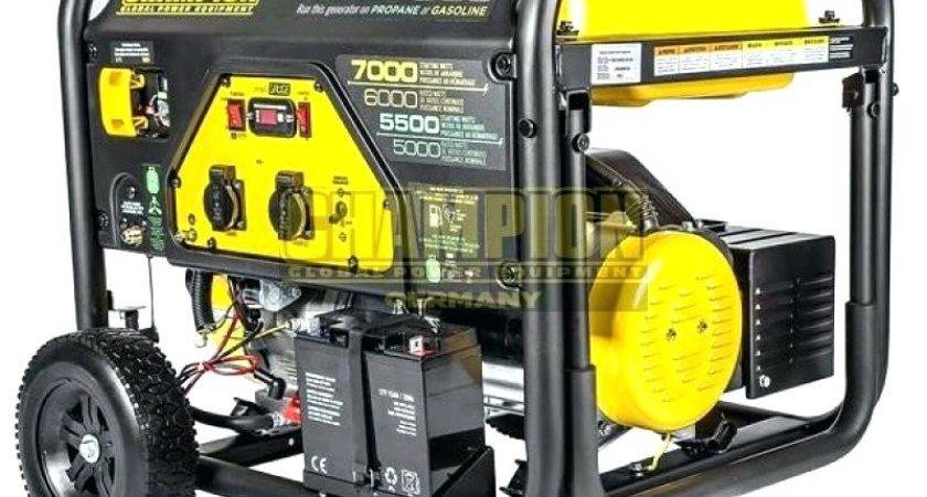 Home Improvement Champion Dual Fuel Generator Price