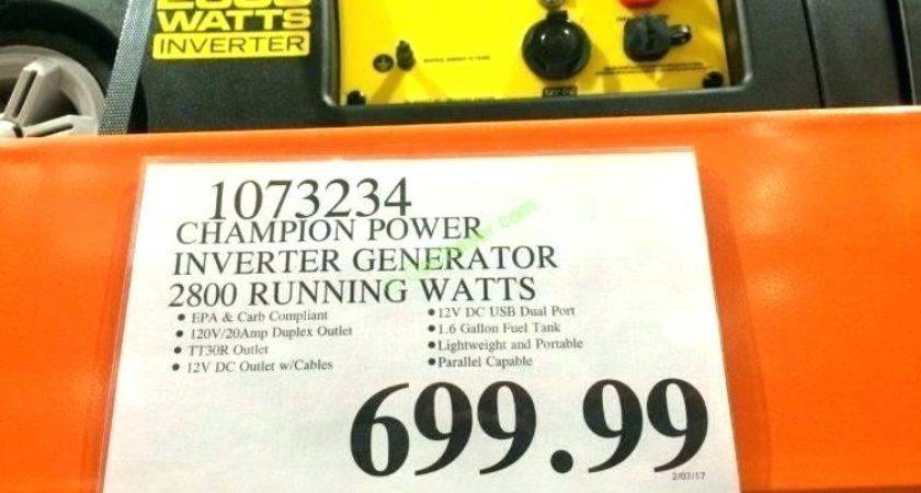 Home Improvement Champion Dual Fuel Generator