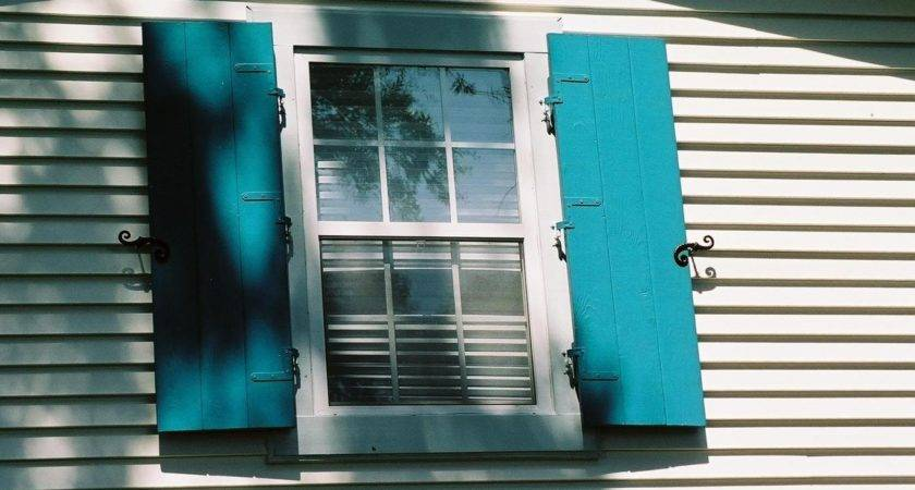 Home Made Wooden Storm Shutters