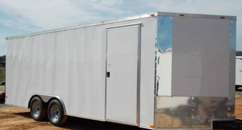 Home Trailer Usa Douglas Enclosed Cargo