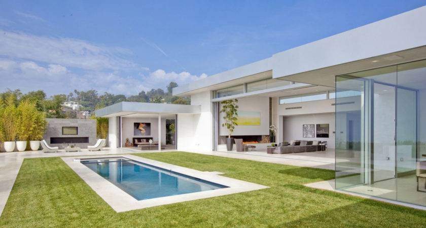 Home Transformed Into Modern Beverly Hills Masterpiece