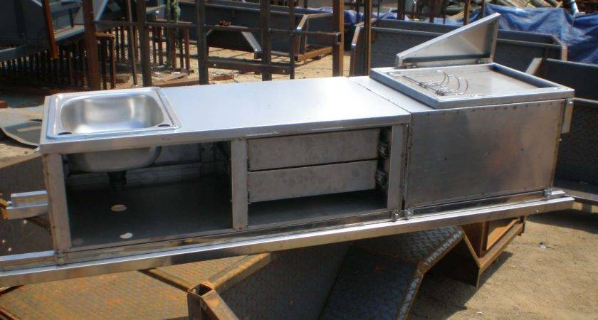 Homemade Camper Trailer Kitchen Perfect Innovation
