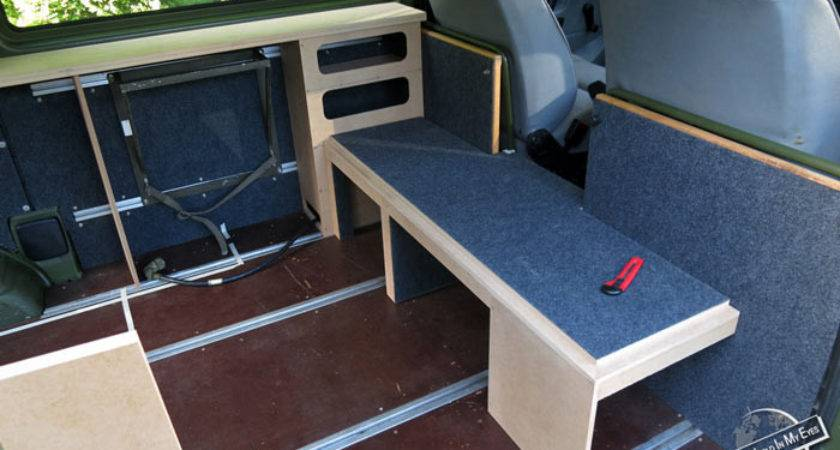 Homemade Campervan Conversion Seetheworldinmyeyes