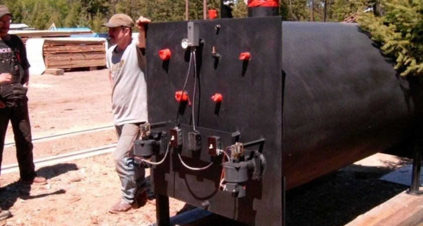Homemade Outdoor Wood Boiler Plans Woodguides