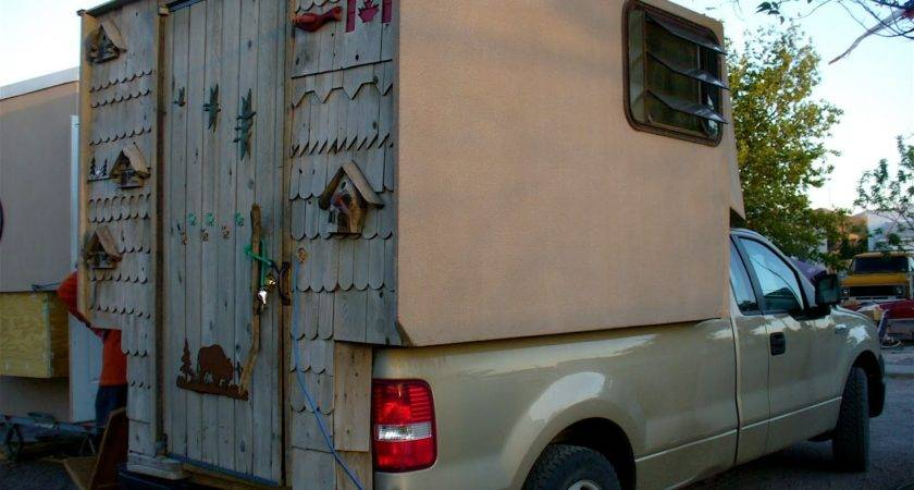 Homemade Truck Camper Plans House Home Designs