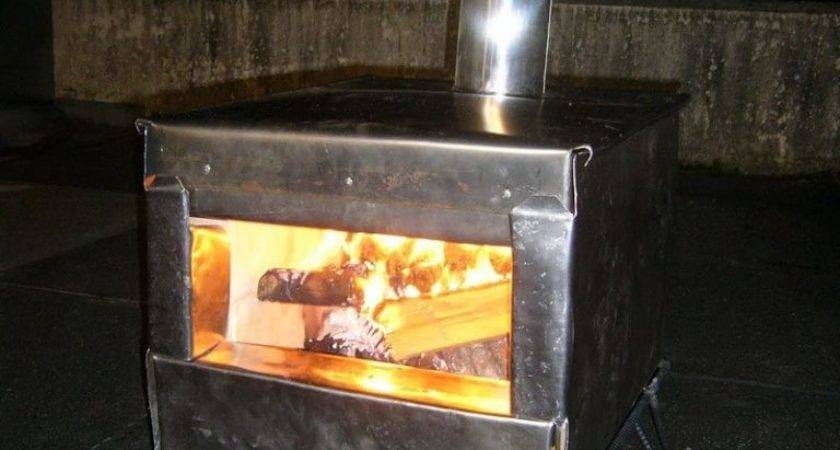 Homemade Wood Burning Stoves Heaters Owner