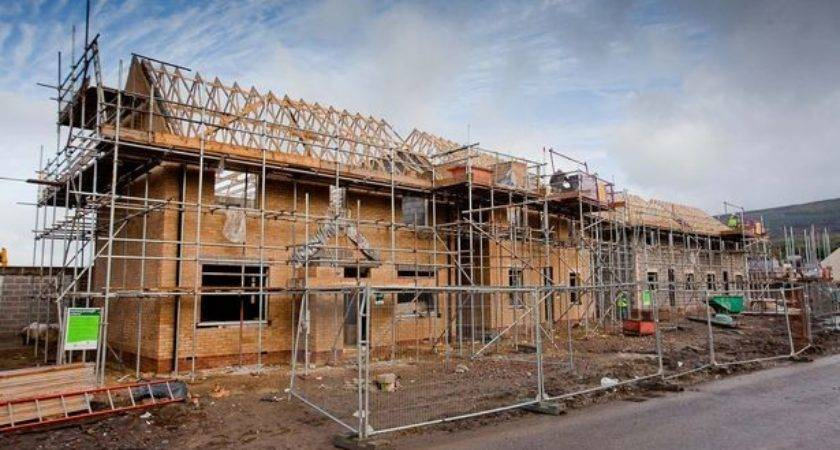 Homes Built Near Bridgend Jobs Created
