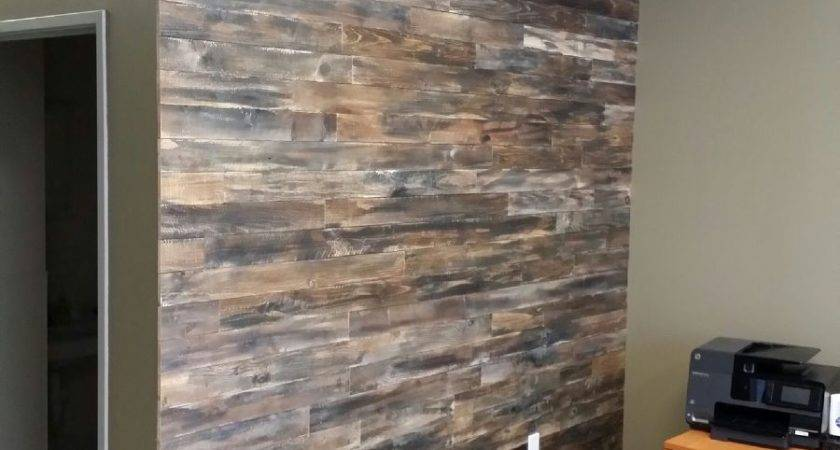 Hometalk Accent Wall Made Pallet Wood