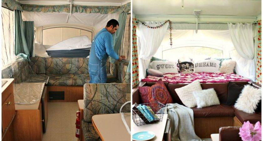 Hometalk Boho Inspired Pop Camper