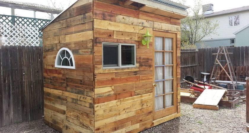 Hometalk Building Garden Shed Pallets