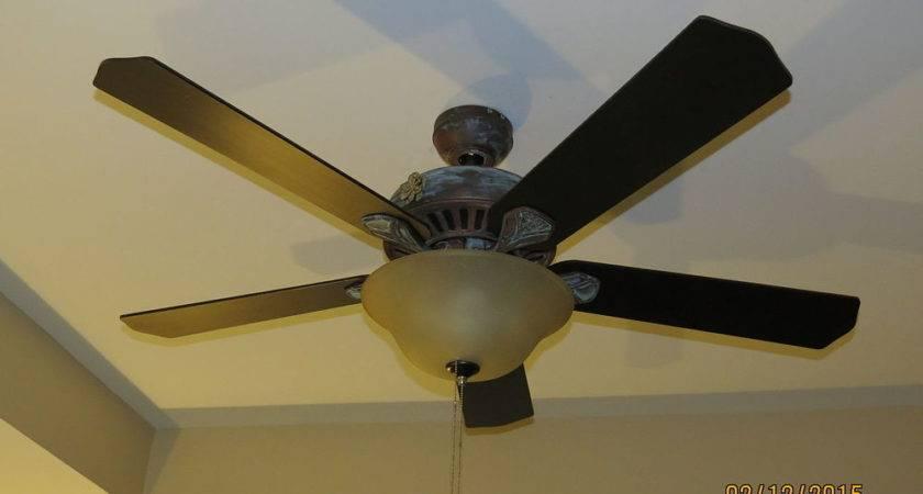 Hometalk Diy Ceiling Fan Makeover Modern Masters Paint