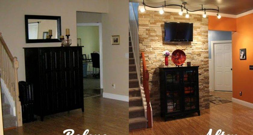 Hometalk Diy Stone Accent Wall