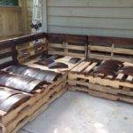 Hometalk Outdoor Pallet Sectional