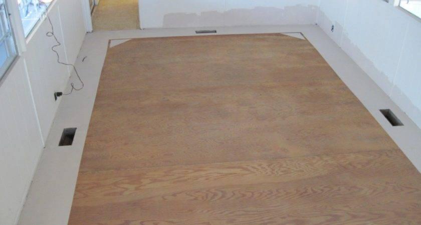 Hometalk Painted Floor Single Wide Mobile Home