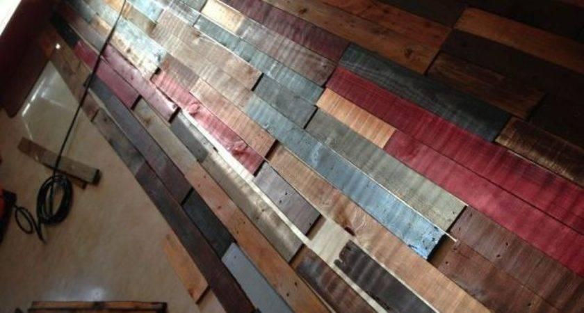 Hometalk Pallet Wall Reclaimed Wood