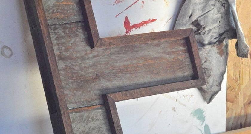 Hometalk Pallet Wood Letters