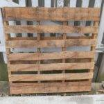 Hometalk Wall Organizer Made Pallets