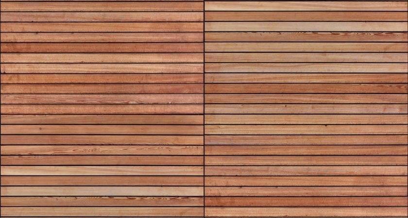 Horizontal Timber Boards Seamless Texture Woods
