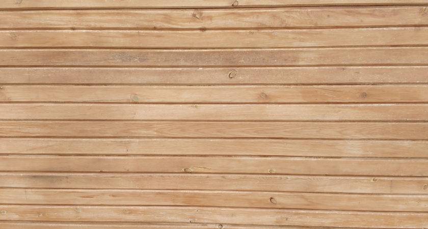 Horizontal Wood Plank Texture Photograph