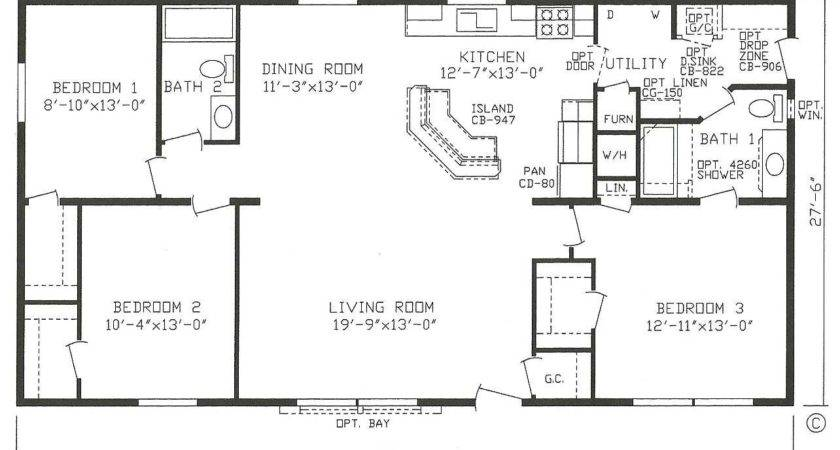 Horton Manufactured Homes Floor Plans