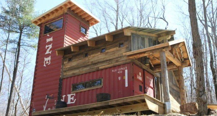 House Built Shipping Containers Woodshipping