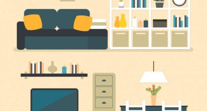 House Furniture Vector