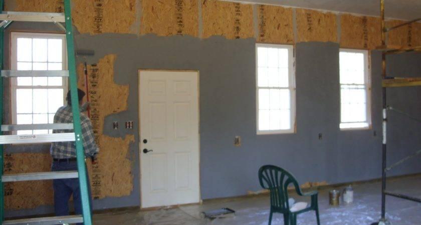 House Hilltop Farm Painting Garage