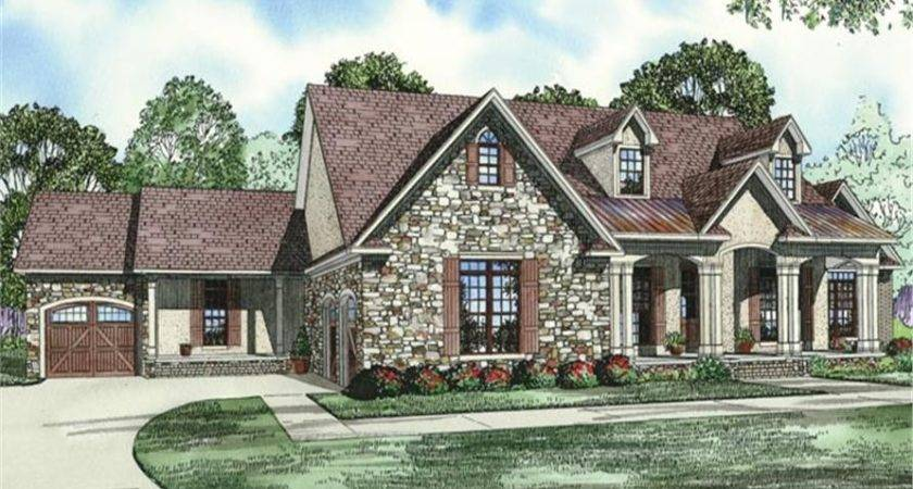 House Plan Bdrm Country Style