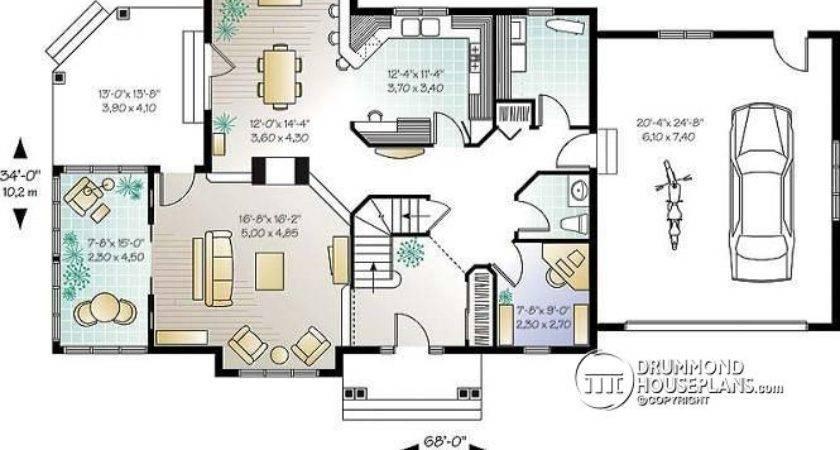 House Plan Detail Drummondhouseplans Sunken