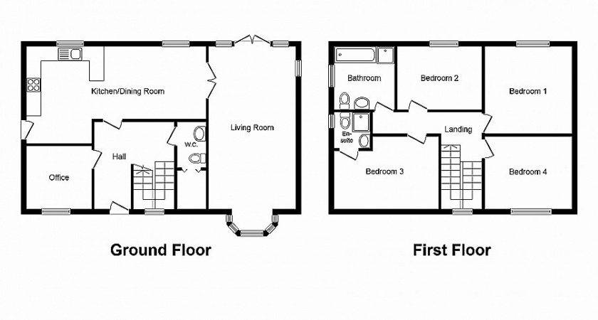 House Plan Unique Two Bedroom Hall Kitchen Plans