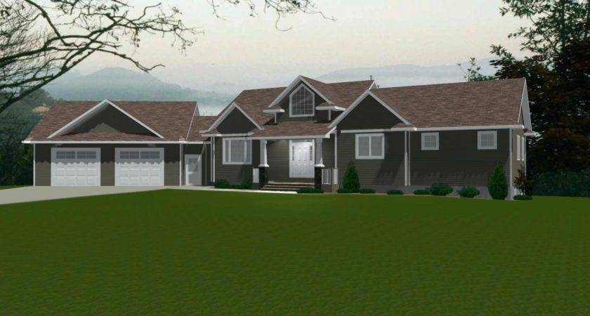 House Plans Attached Garage Frontplanshome