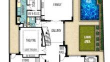 House Plans Kitchen Middle Inspiring