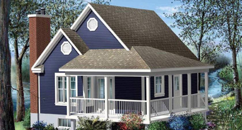 House Plans Porches Wrap