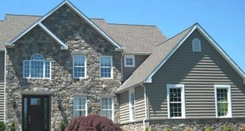 House Stone Siding Combinations
