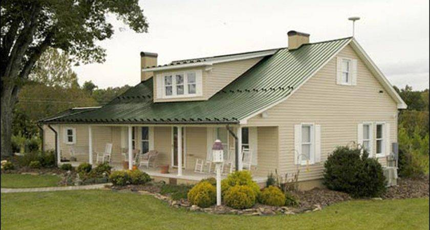 House Vinyl Siding Color Schemes Green Metal