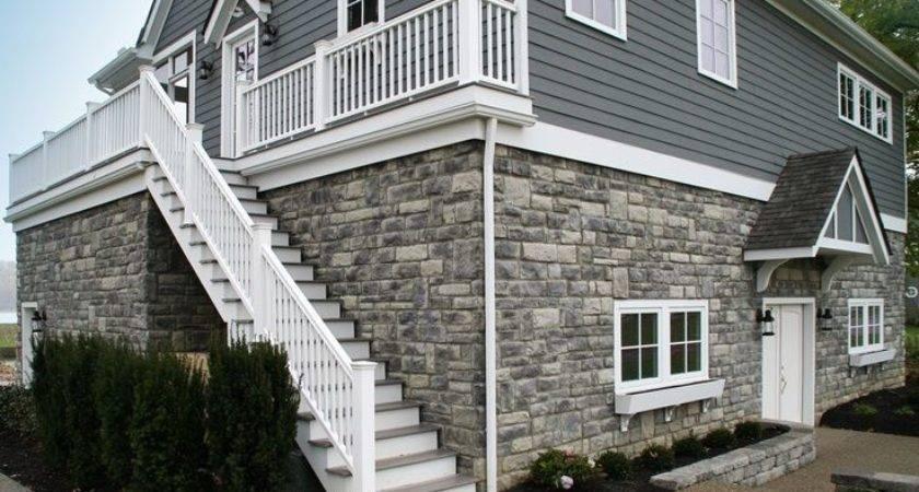 Houses Vinyl Siding Heritage Stone Limestone Adds