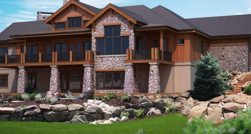 Houses Walkout Basement Modern Diy Art Designs