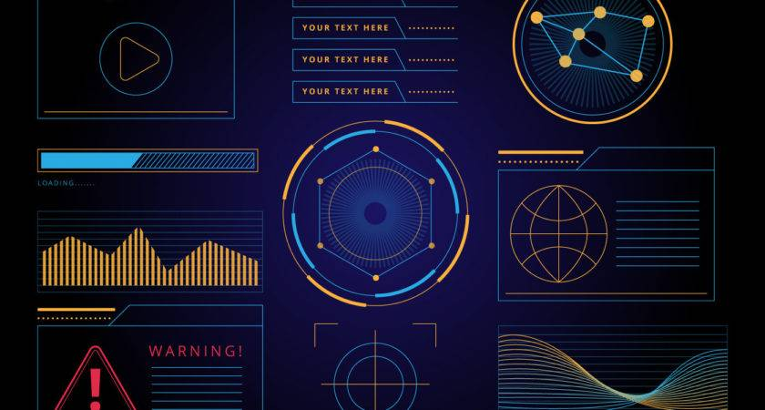 Hud Graphic Interface Vector