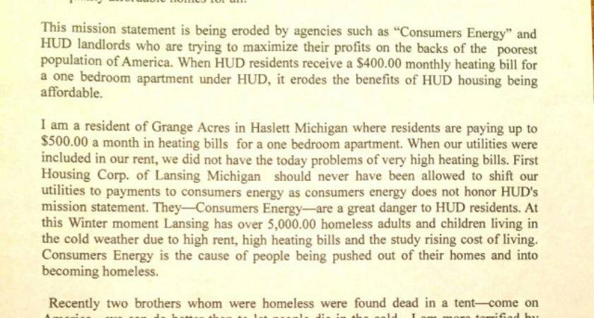 Hud Residents Michigan Pay Heat One Bedroom