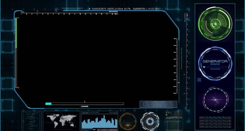 Hud Video Holder Data Window Alpha Channel