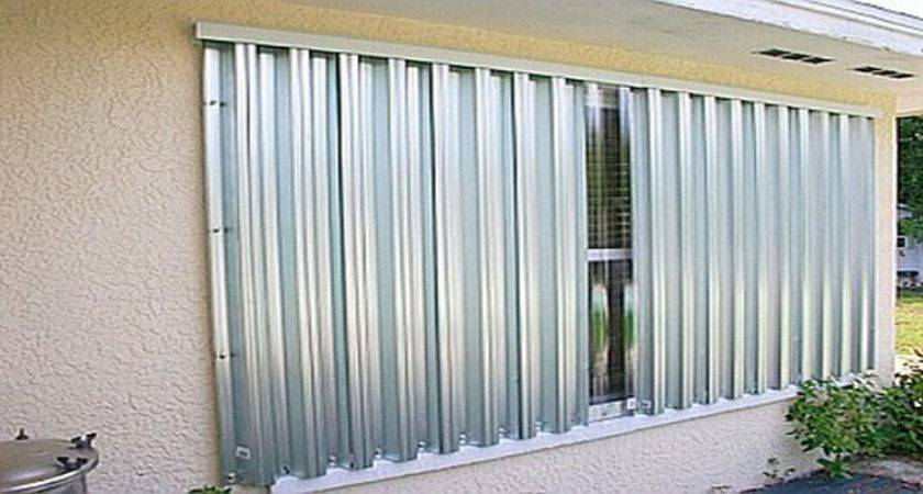 Hurricane Shutters Panels Griffiths Metal Products