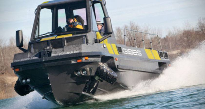 Hybrid Floating Trucks Amphitruck