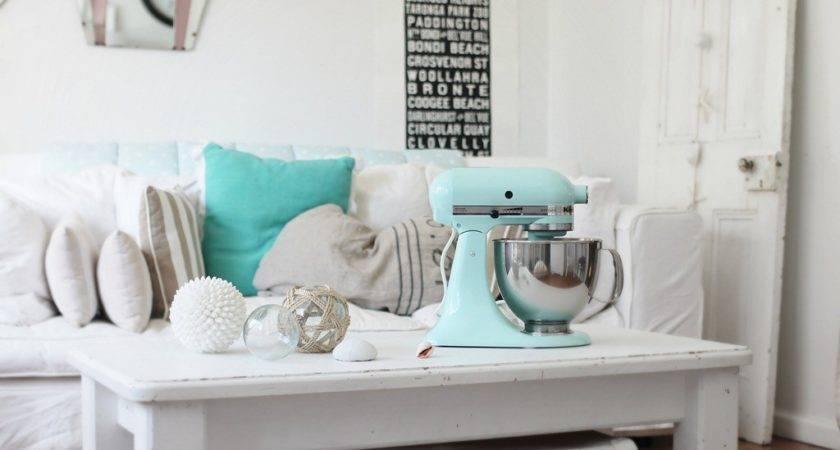 Ice Blue Kitchenaid Beach Cottage Style Life Sea