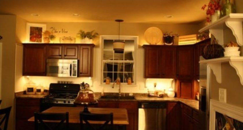 Ideas Awkward Space Above Your Kitchen Cabinets